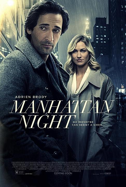 Adrien Brody and Yvonne Strahovski in Manhattan Night (2016)