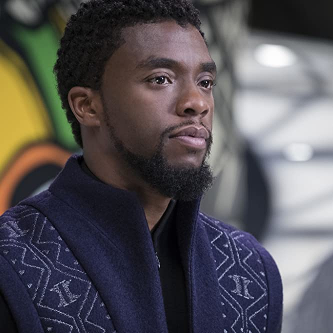 Chadwick Boseman in Black Panther (2018)