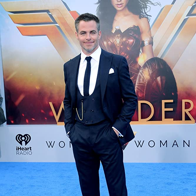 Chris Pine at an event for Wonder Woman (2017)