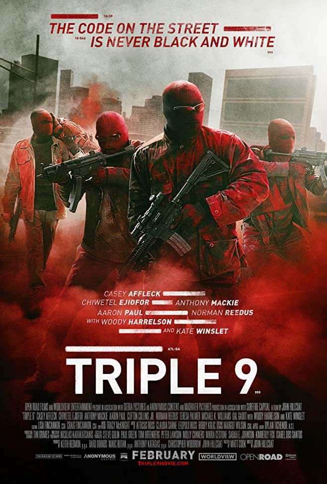 Open Road Films' Triple 9 - Red Band Trailer 1