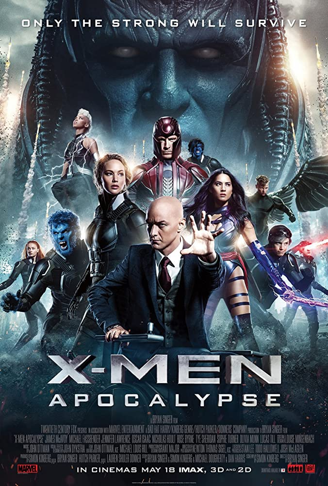 X-Men Apocalypse 2016 Dual Audio 720p HDTC 990MB