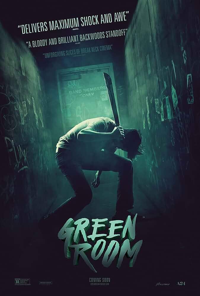 Anton Yelchin in Green Room (2015)