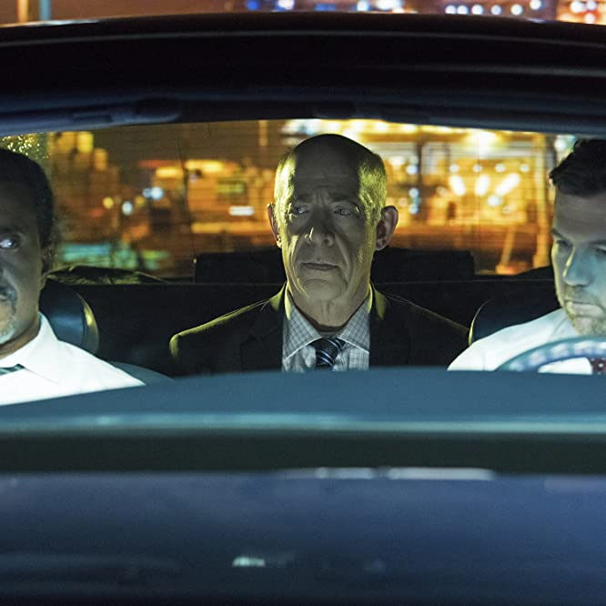Tim Meadows, J.K. Simmons, and Patrick Brammall in No Activity (2017)