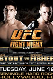 UFC Fight Night: Stout vs Fisher Poster