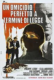 Un omicidio perfetto a termine di legge Poster