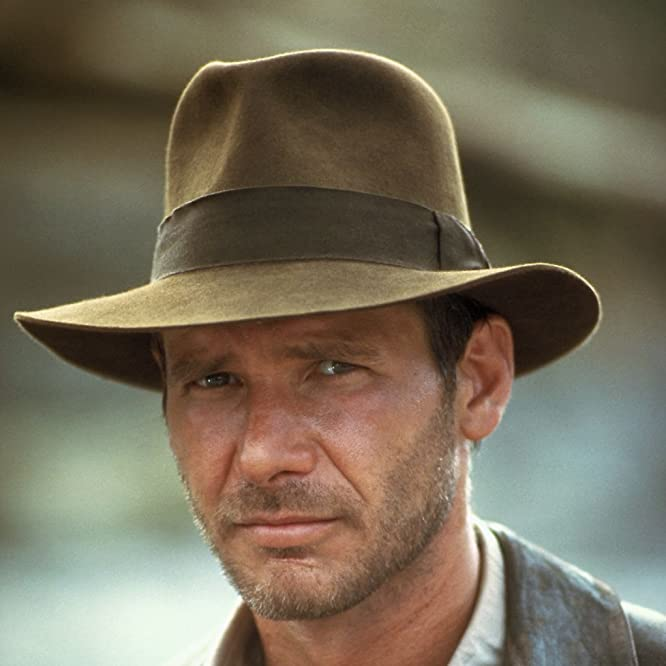 Harrison Ford in Indiana Jones and the Temple of Doom (1984)