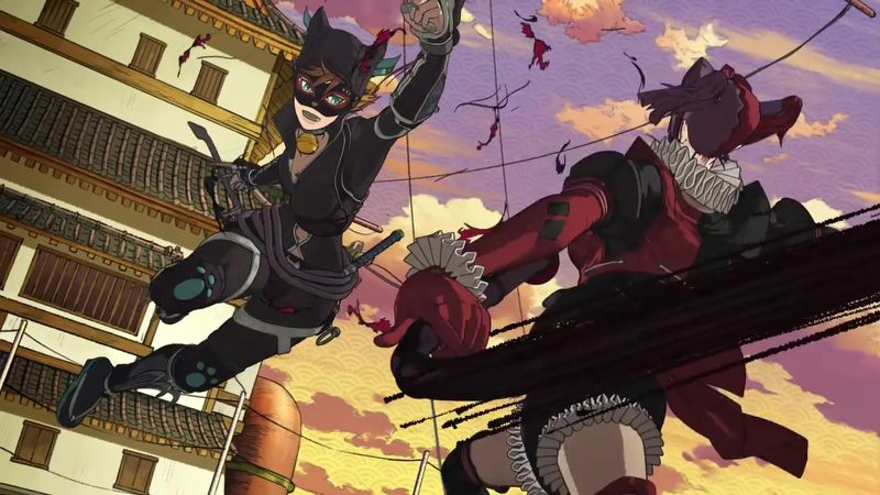 Batman Ninja (2018) HD 720P LATINO/INGLES