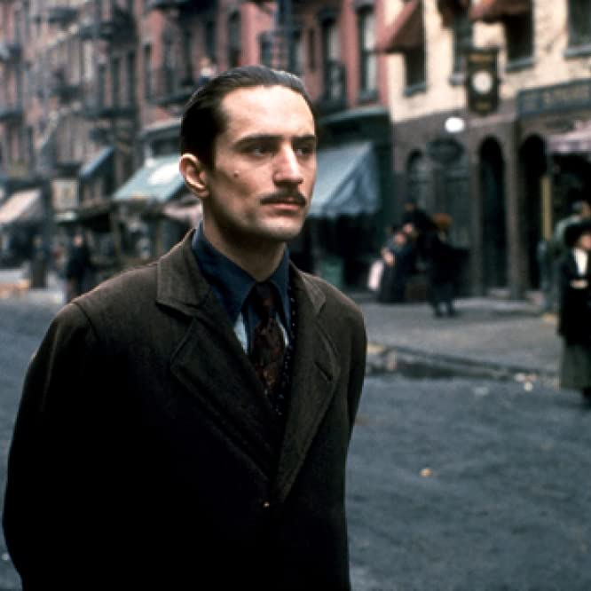 Robert De Niro in The Godfather: Part II (1974)