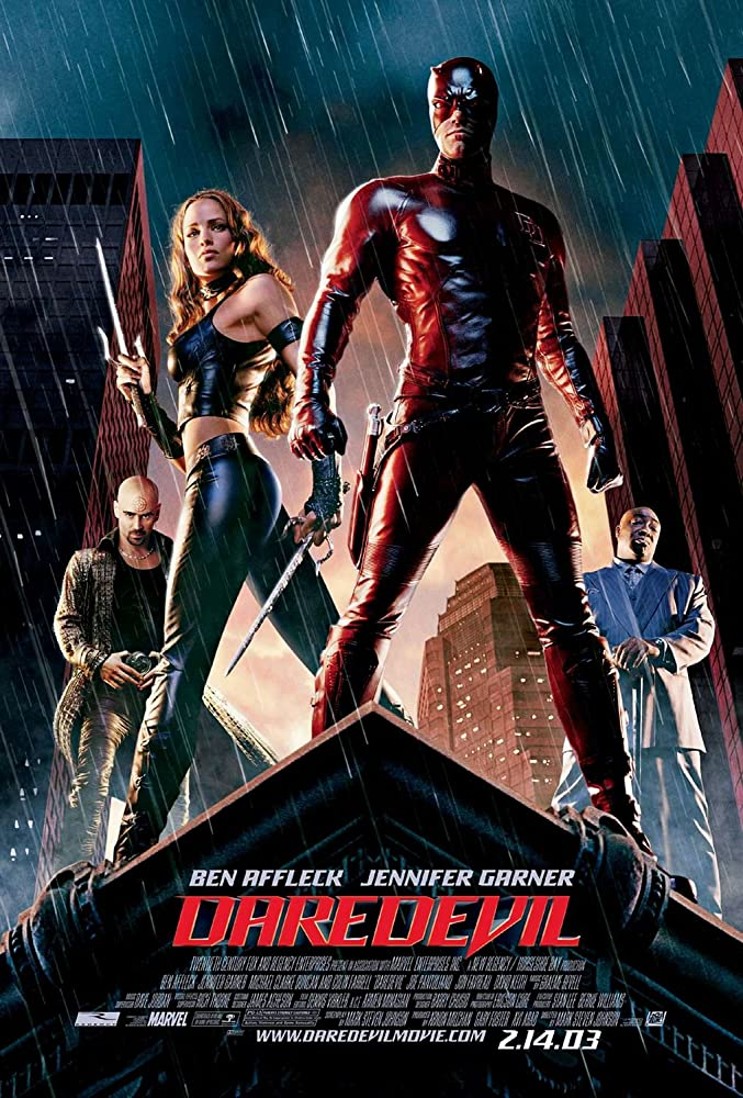 Daredevil 2003 Dual Audio 720p BluRay Hindi 1GB Download