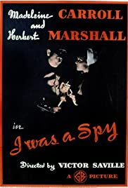 I Was a Spy Poster