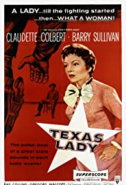 Texas Lady Poster