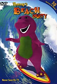 Barney's Beach Party Poster