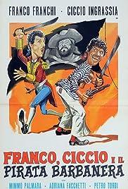 Franco, Ciccio e il pirata Barbanera Poster
