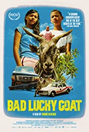 Bad Lucky Goat Poster