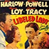 Spencer Tracy, Jean Harlow, Myrna Loy, and William Powell in Libeled Lady (1936)