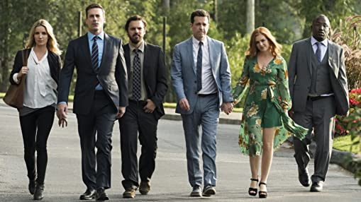 Isla Fisher, Jon Hamm, Ed Helms, Annabelle Wallis, Jake Johnson, and Hannibal Buress in Tag (2018)