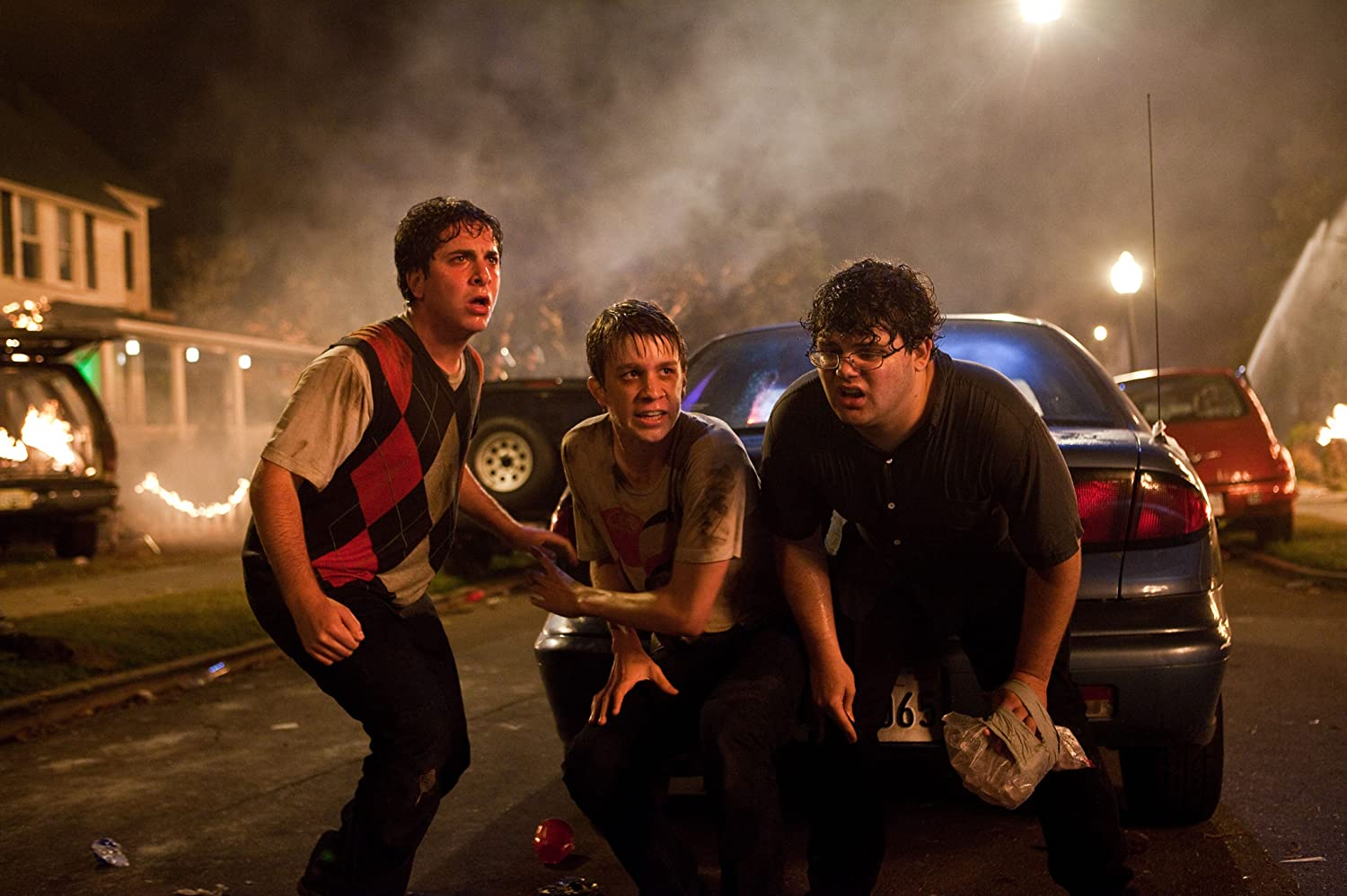 Thomas Mann, Oliver Cooper, and Jonathan Daniel Brown in Project X (2012)