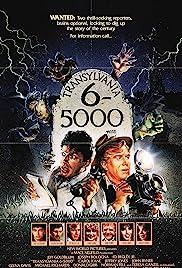 Transylvania 6-5000 Poster