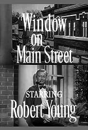 Window on Main Street Poster