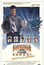 The Adventures of Buckaroo Banzai Across the 8th Dimension Poster