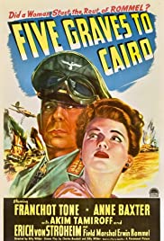 Five Graves to Cairo(1943) Poster - Movie Forum, Cast, Reviews