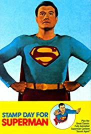 Stamp Day for Superman Poster