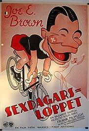 6 Day Bike Rider Poster
