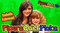 Isabelle Fuhrman from Orphan on Piper's Picks with Piper Reese!!!