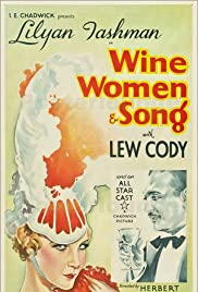Wine, Women and Song Poster
