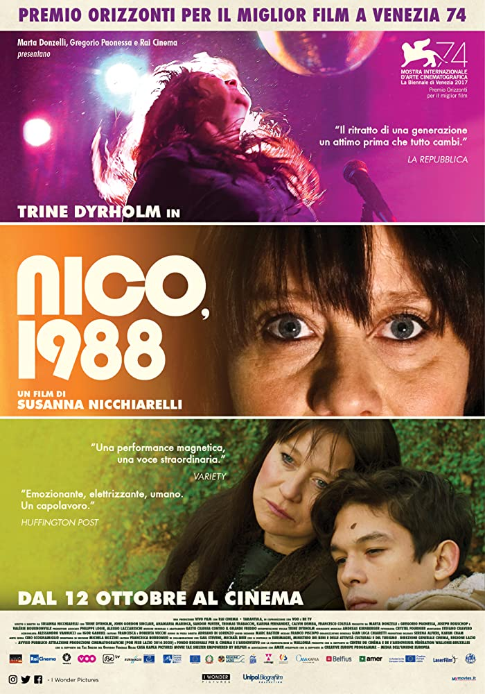 Image result for NICO 1988 ( 2017 ) POSTER HD