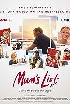 Primary image for Mum's List