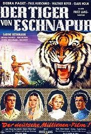 Der Tiger von Eschnapur Poster