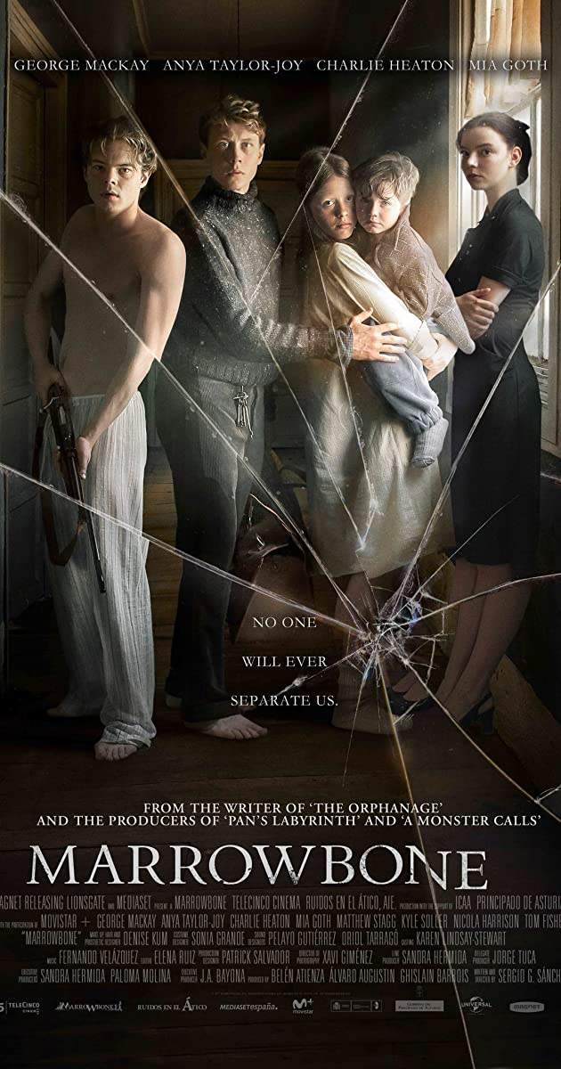 Šešėlių namai/ The Secret of Marrowbone (2017)