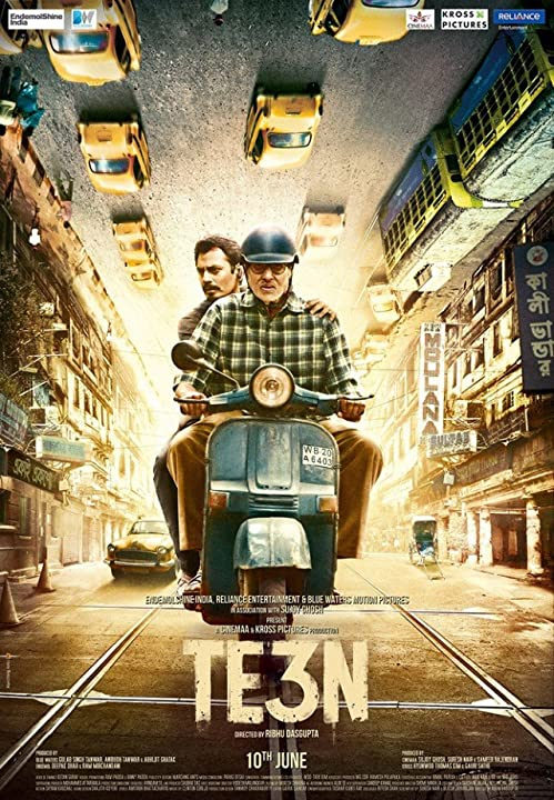 Amitabh Bachchan in Te3n (2016) Full Bollywood Movie Watch online free Download at www.movies365.in