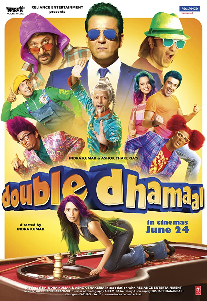 Double Dhamaal 2011 720p BRRip Bollywood Full Movie Watch Online Free Download at Movies365.in