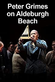 Peter Grimes on Aldeburgh Beach Poster