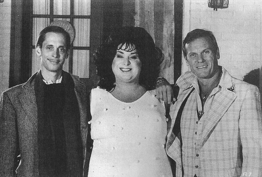 John Waters, Divine, and Tab Hunter in Polyester (1981)