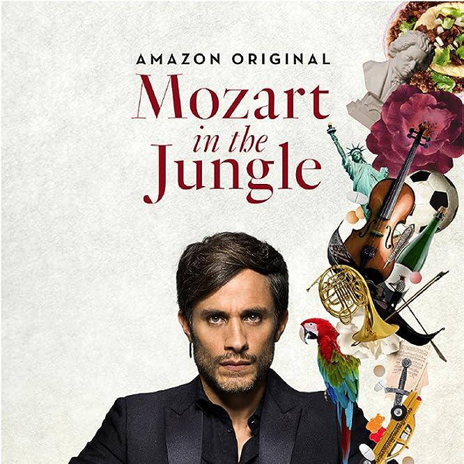 Bernadette Peters and Gael García Bernal in Mozart in the Jungle (2014)