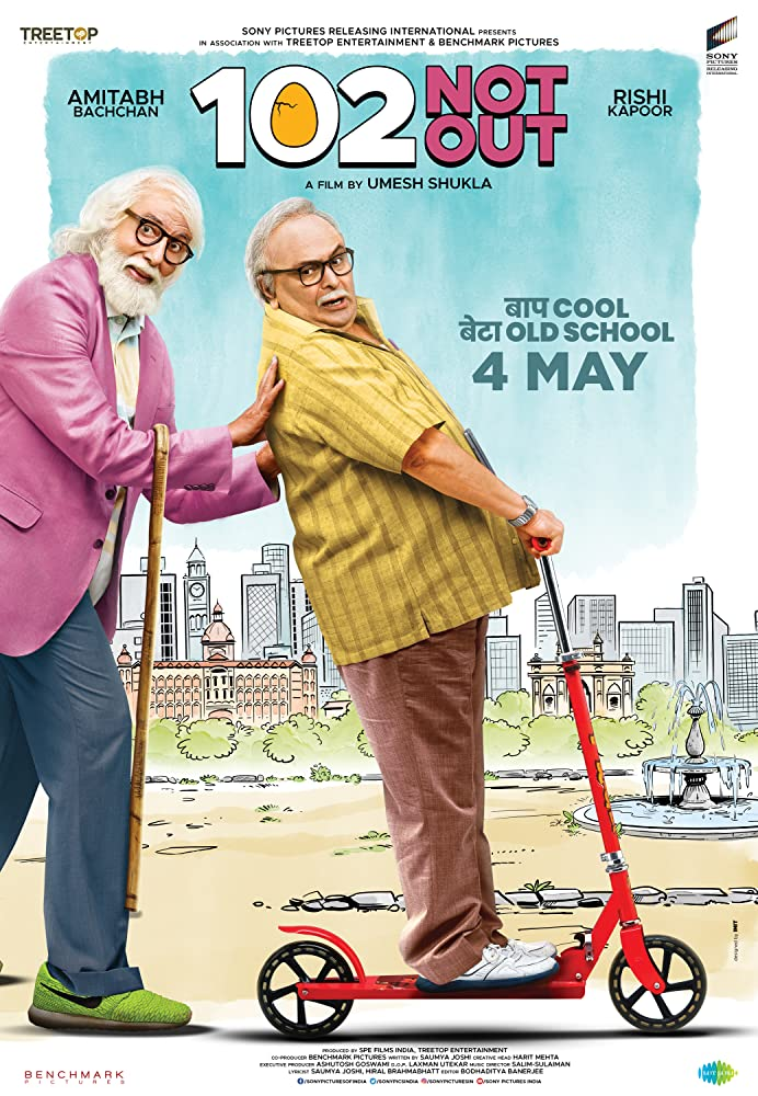 102 Not Out (2018) Hindi 300MB DVDRip 480p x264