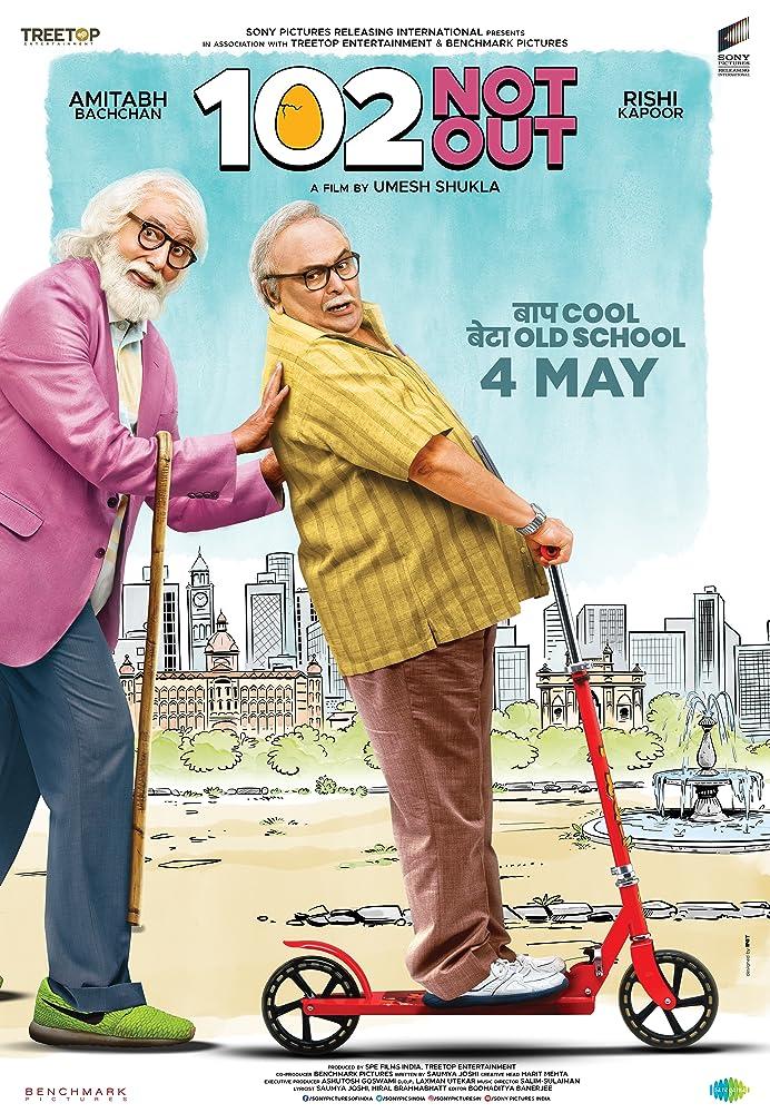 102 Not Out (2018) Hindi 720p DVDRip x264 700MB