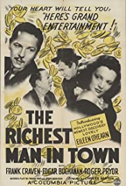 The Richest Man in Town Poster