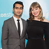 Kumail Nanjiani and Emily V. Gordon at an event for The Big Sick (2017)