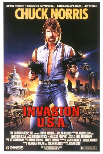 Invasion U.S.A. Movie Poster
