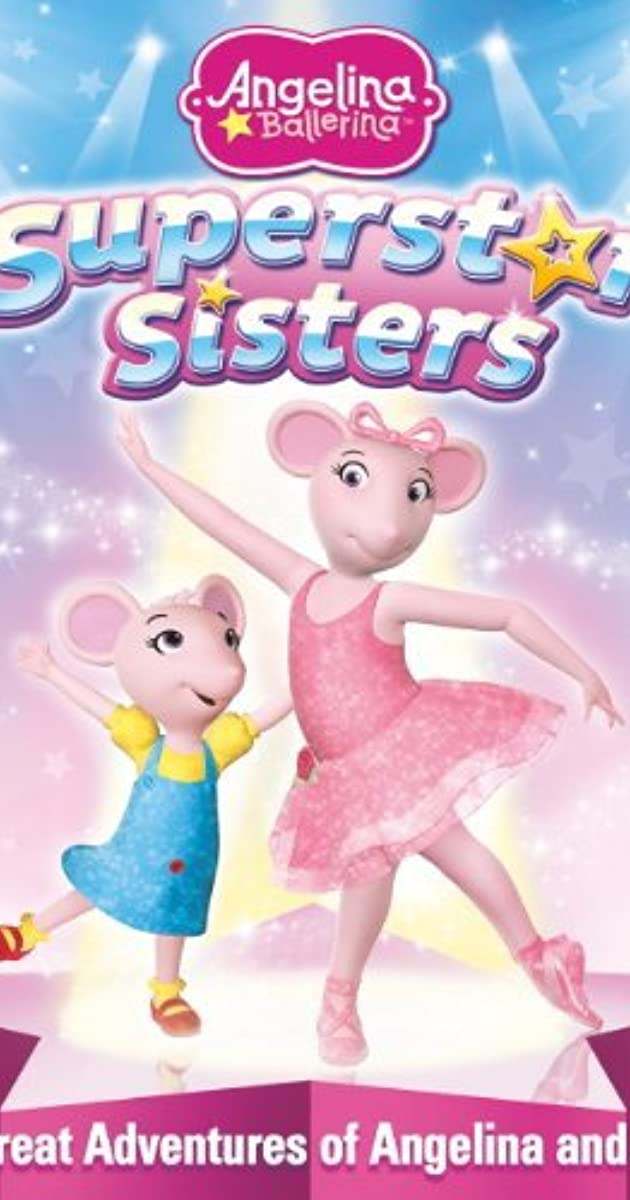 This is a photo of Clean Angelina Ballerina Characters