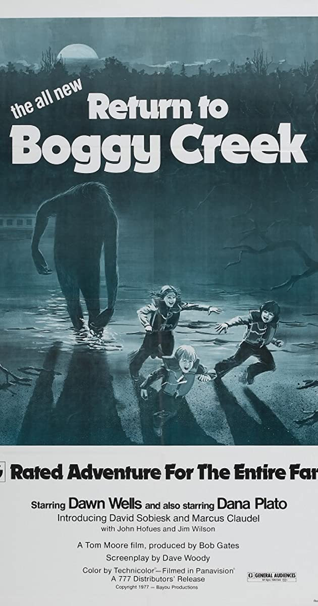 return to boggy creek dvd