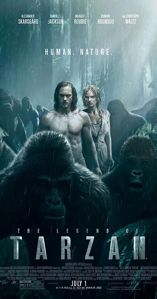 Tarzanas: džiunglių legenda / The Legend of Tarzan (2016) Online