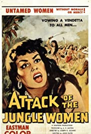 Attack of the Jungle Women Poster