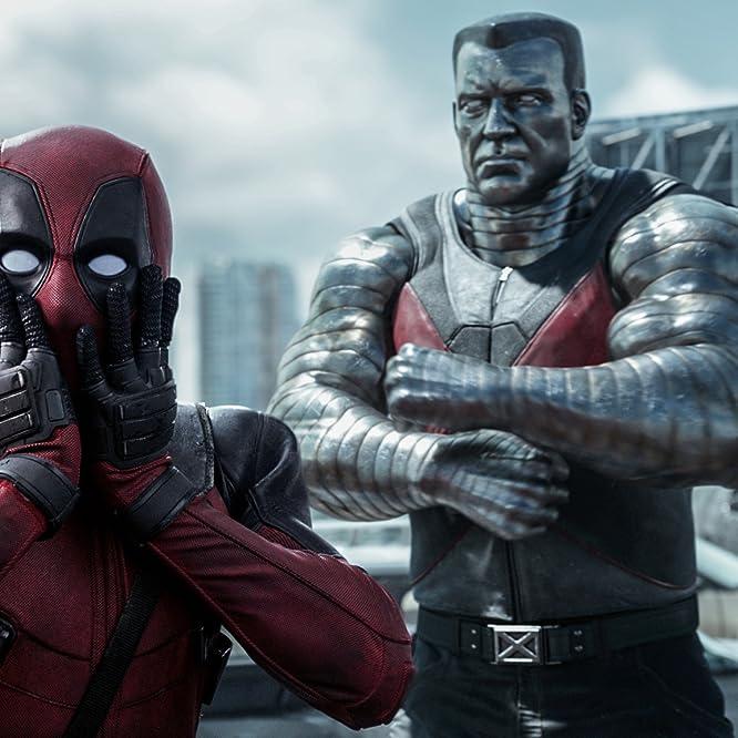 Ryan Reynolds, Stefan Kapicic, and Brianna Hildebrand in Deadpool (2016)