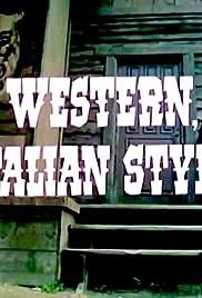 Western, Italian Style Poster