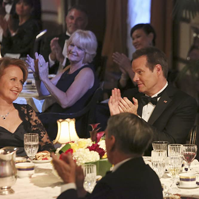 Kate Burton and Jack Coleman in Scandal (2012)